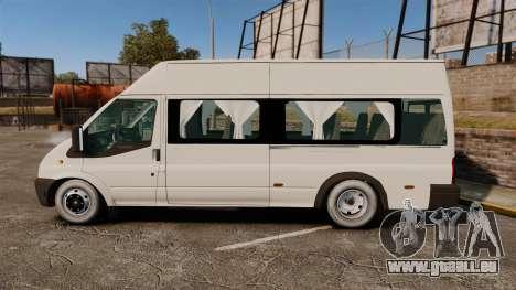 Ford Transit Passenger für GTA 4 linke Ansicht