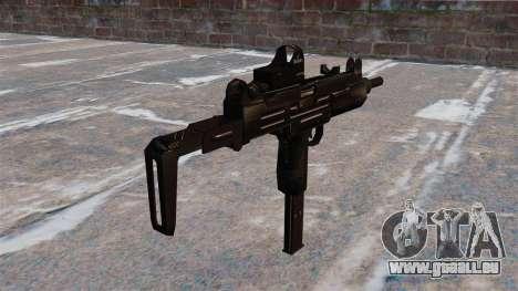 Mitraillette Uzi tactique pour GTA 4 secondes d'écran