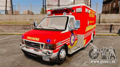 Ford E-350 LCFR [ELS] für GTA 4