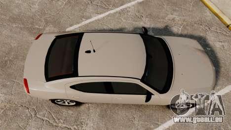 Dodge Charger Unmarked Police [ELS] für GTA 4 rechte Ansicht