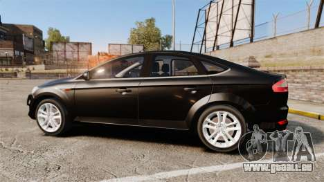 Ford Mondeo Unmarked Police [ELS] pour GTA 4 est une gauche