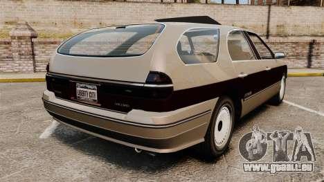 Solair 2000 Facelift pour GTA 4 Vue arrière de la gauche