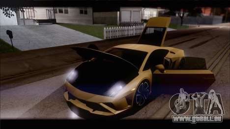 Lamborghini Gallardo LP560-4 Coupe 2013 V1.0 für GTA San Andreas Motor