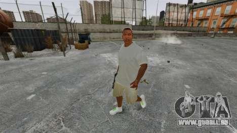 Franklin Clinton v3 für GTA 4 Sekunden Bildschirm