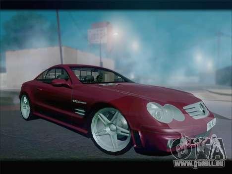 Mercedes SL500 v2 für GTA San Andreas