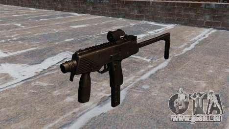 MP9-taktische Maschinenpistole für GTA 4
