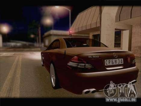 Mercedes SL500 v2 für GTA San Andreas Seitenansicht