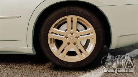 Dodge Charger RT Hemi 2007 für GTA 4 Rückansicht