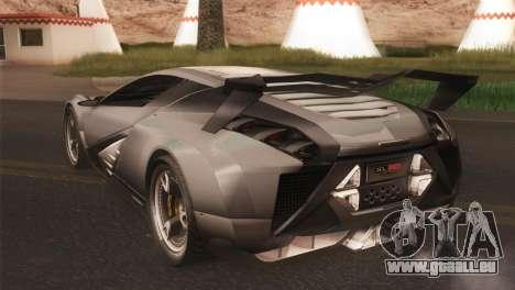SuperMotoXL CONXERTO v2.0 für GTA San Andreas zurück linke Ansicht