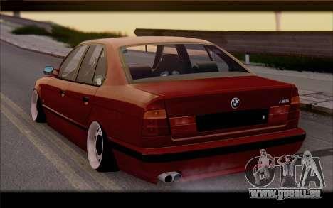 BMW E34 für GTA San Andreas linke Ansicht
