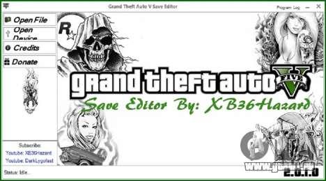 Grand Theft Auto V Save Editor v.2.0.1.0 für GTA 5