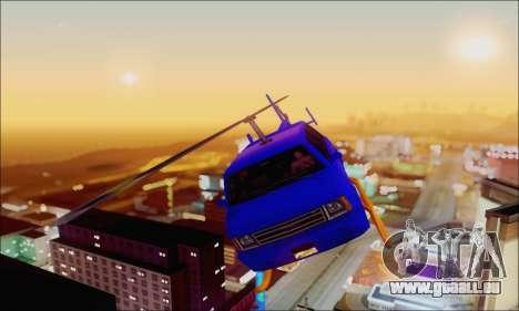 Fun Maverick pour GTA San Andreas vue arrière