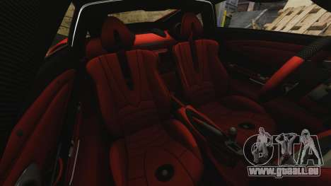 Pagani Huyara [EPM] pour GTA 4 est une vue de dessous