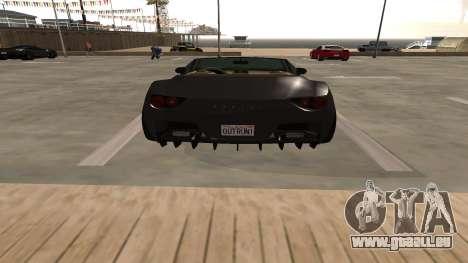 Carbonizzare de GTA 5 pour GTA San Andreas vue intérieure