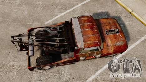 Chevrolet Tow truck rusty Rat rod für GTA 4 rechte Ansicht