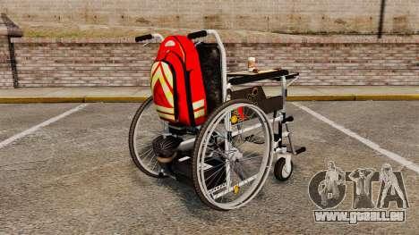 Funny Wheelchair für GTA 4 hinten links Ansicht