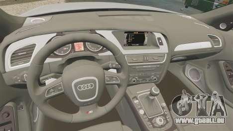 Audi S4 2010 pour GTA 4 est un côté