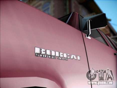 Bobcat insipide XL de GTA V pour GTA San Andreas sur la vue arrière gauche