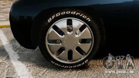 Ford Forty Nine Concept 2001 Police [ELS] pour GTA 4 Vue arrière