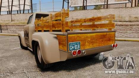 Hot Rod Truck Gas Monkey v2.0 pour GTA 4 Vue arrière de la gauche