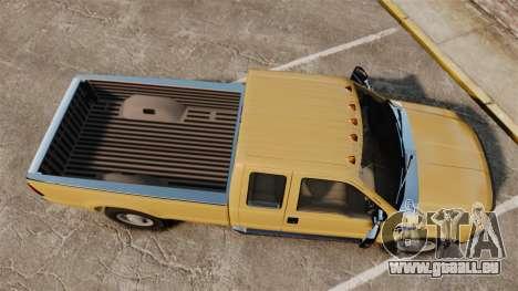 Ford F-350 Super Duty 2011 pour GTA 4 est un droit