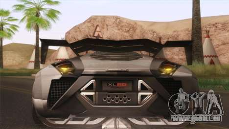 SuperMotoXL CONXERTO v2.0 für GTA San Andreas Innenansicht