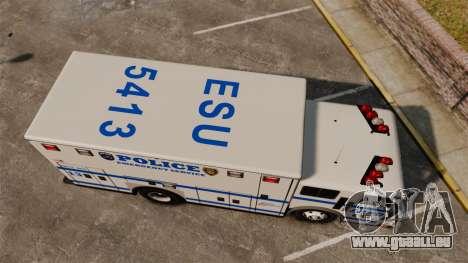 Hazmat Truck LCPD [ELS] pour GTA 4 est un droit