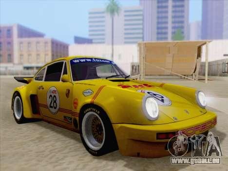 Porsche 911 RSR 3.3 skinpack 1 pour GTA San Andreas roue