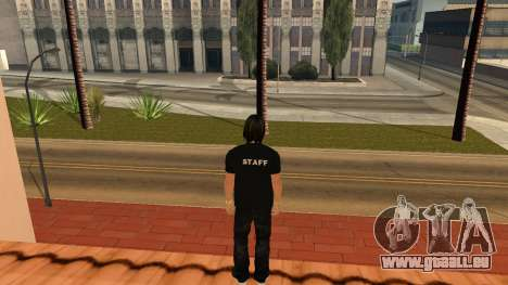 Hochwertige Haut Personal für GTA San Andreas her Screenshot