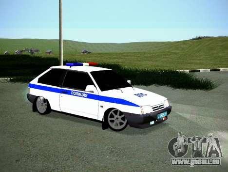 VAZ 2108 DPS pour GTA San Andreas vue de droite