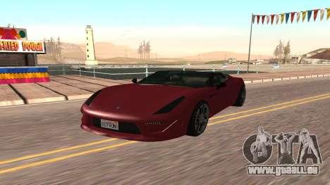 Carbonizzare de GTA 5 pour GTA San Andreas laissé vue