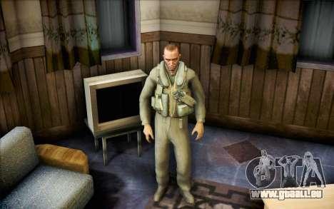 Nicolas de Call of Duty MW2 pour GTA San Andreas deuxième écran