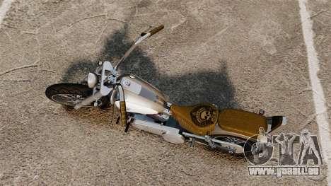 GTA IV TLAD Wayfarer pour GTA 4 Vue arrière de la gauche