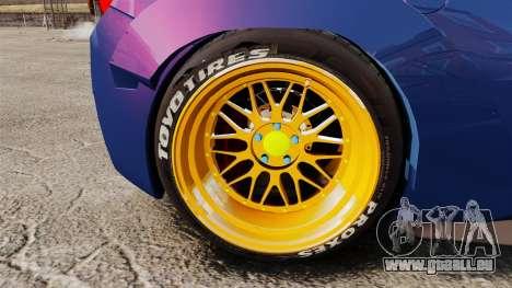 Ferrari 458 Italia Liberty Walk pour GTA 4 Vue arrière