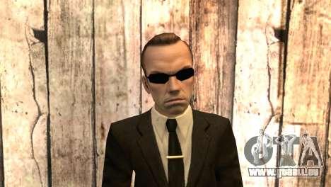 Smith de la matrice du film pour GTA San Andreas troisième écran