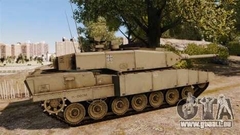 Leopard 2A7 für GTA 4 linke Ansicht