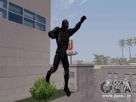 Nano-combinaison coréen de Crysis pour GTA San Andreas quatrième écran