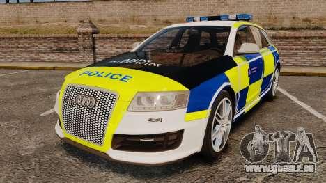 Audi RS6 Avant Metropolitan Police [ELS] für GTA 4