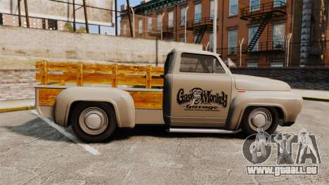 Hot Rod Truck Gas Monkey v2.0 für GTA 4 linke Ansicht