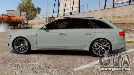 Audi RS4 Avant pour GTA 4 est une gauche