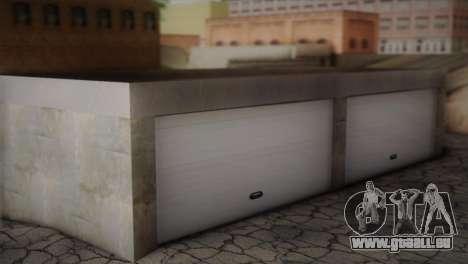 Garage dans Dorothy pour GTA San Andreas deuxième écran