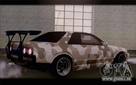 Nissan Skyline GTS Drift Spec für GTA San Andreas linke Ansicht
