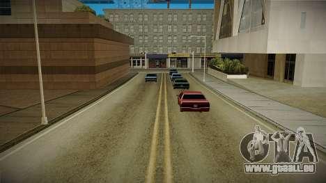 GTA HD Mod 3.0 pour GTA San Andreas troisième écran