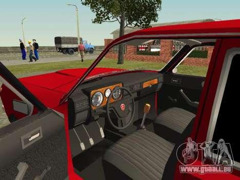 Volga GAZ 24-10 für GTA San Andreas Rückansicht