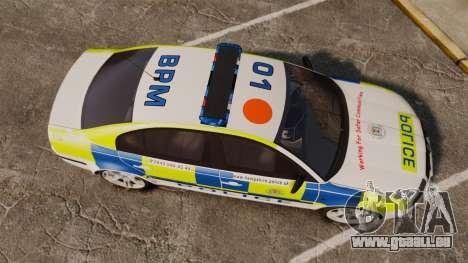 Skoda Superb 2006 Police [ELS] Whelen Edge für GTA 4 rechte Ansicht