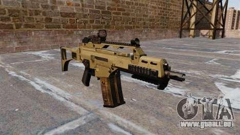 Fusil d'assaut HK G36C tactique pour GTA 4