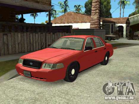 Ford Crown Victoria Unmarked Police pour GTA San Andreas