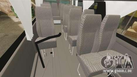 Ford Transit Passenger pour GTA 4 est une vue de l'intérieur