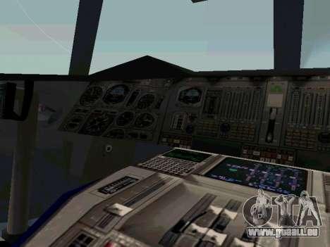 Boeing-747-400 Airforce one pour GTA San Andreas vue arrière