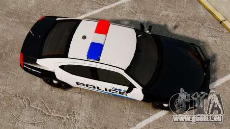 Dodge Charger 2010 Police [ELS] pour GTA 4 est un droit